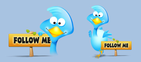 Twitter Bird for Free