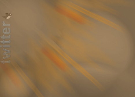 Twitter abstract background brown