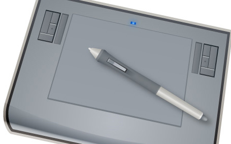 How To Create A Vector Wacom Tablet In Illustrator