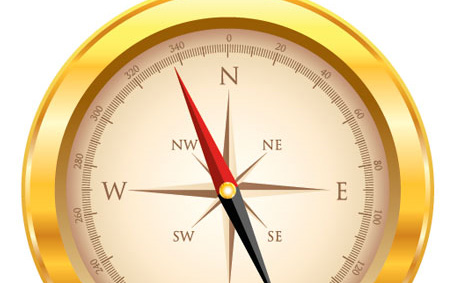 How to Create a Golden, Vector Compass in Illustrator