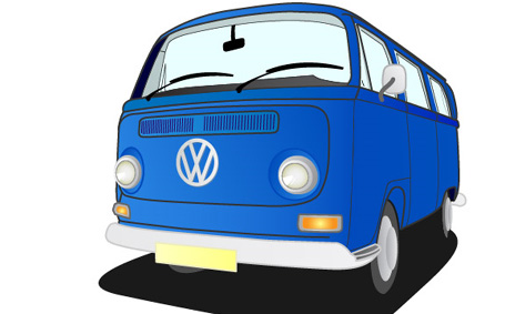 How to Create a Hippy Van Vector in Illustrator