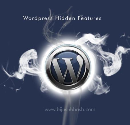 Wordpress Hidden Features