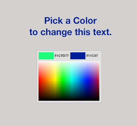 Custom Color Picker with Flash and Actionscript 3.0