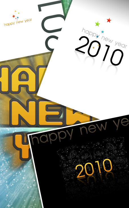 Download Your New Year 2010 Wallpaper