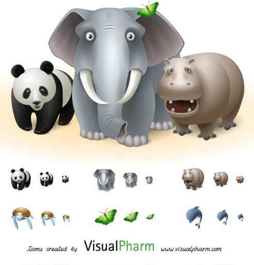 Free Animal Icons by Visual Pharm