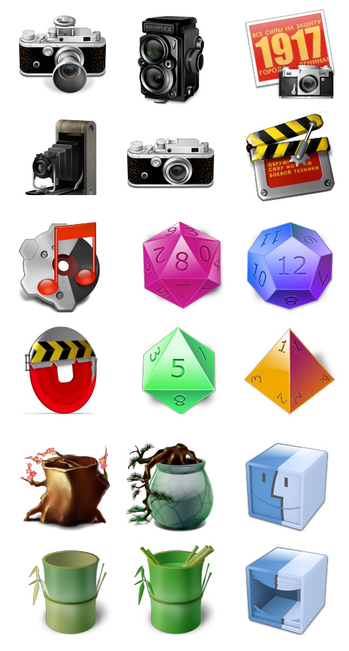 Free Icons from Icon Cubic for Personal Use