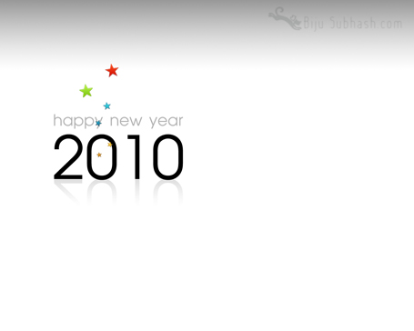 new-year-2010-desktop-wallpaper - Gray
