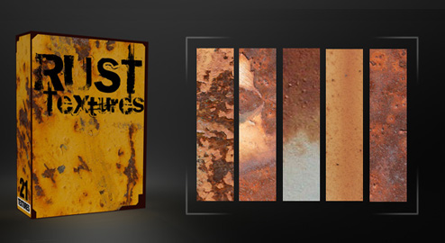 21 Free Rust Textures Pack