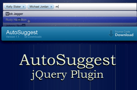 AutoSuggest jQuery Plugin for Your Website
