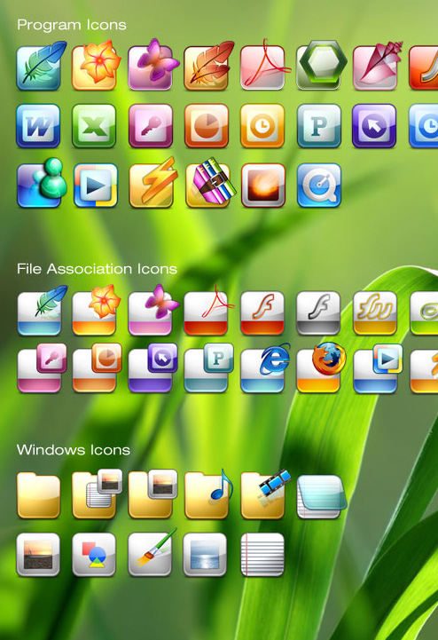 Free Icon Set for Window XP and Vista