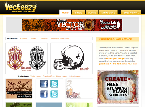 All vector graphics at one place - Vecteezy