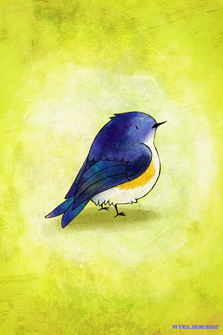 Blue Birdie - by atelier302