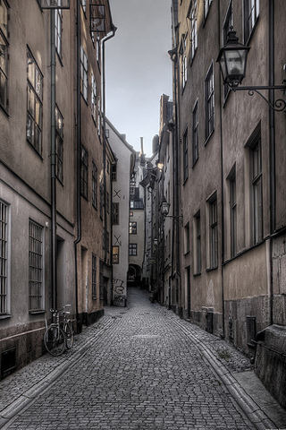 Old Town Alley - by Hannes R