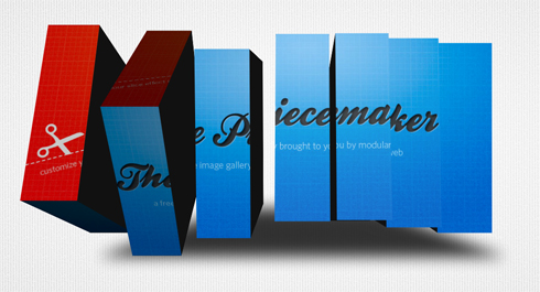 Piecemaker -  Flash 3D Image Slider
