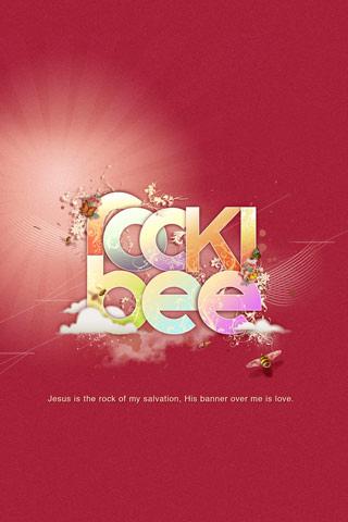Rockibee iPhone Wallpaper - by Ioswl