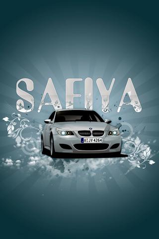 Safiya iPhone Wallpaper - by Ioswl