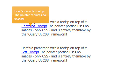 Image-less CSS Tooltip Pointers with Polygonal CSS