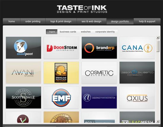 taste of ink