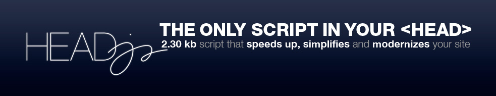 Head JS Speeds Up- Simplifies & Modernizes Your Site