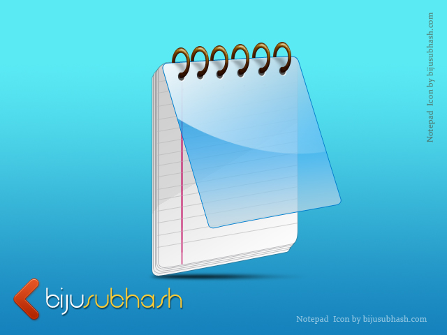 PSD Notebook Icon