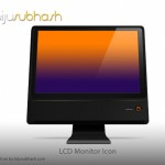 LCD Monitor Icon (PSD)