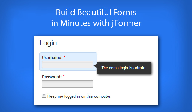 jFormer - A jQuery Form Framework