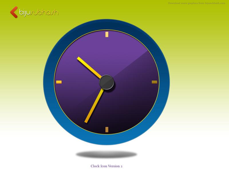Clock Icon V2