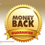 Money Back Guarantee Badge (PSD)