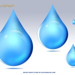 Water Drops Icons (PSD)