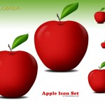 Apple Icon Set (PSD)