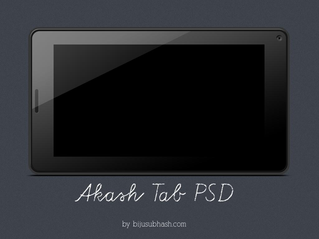 Akash-tab PSD