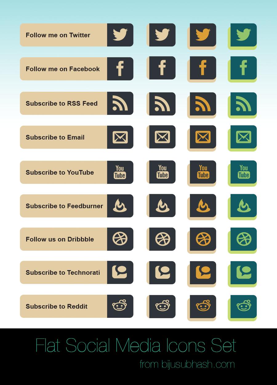 flat_social_icons_set